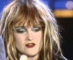 Punk Rock Star Exene of X  Band.