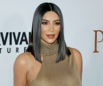 kim cardashian sleek lob hairstyle 1